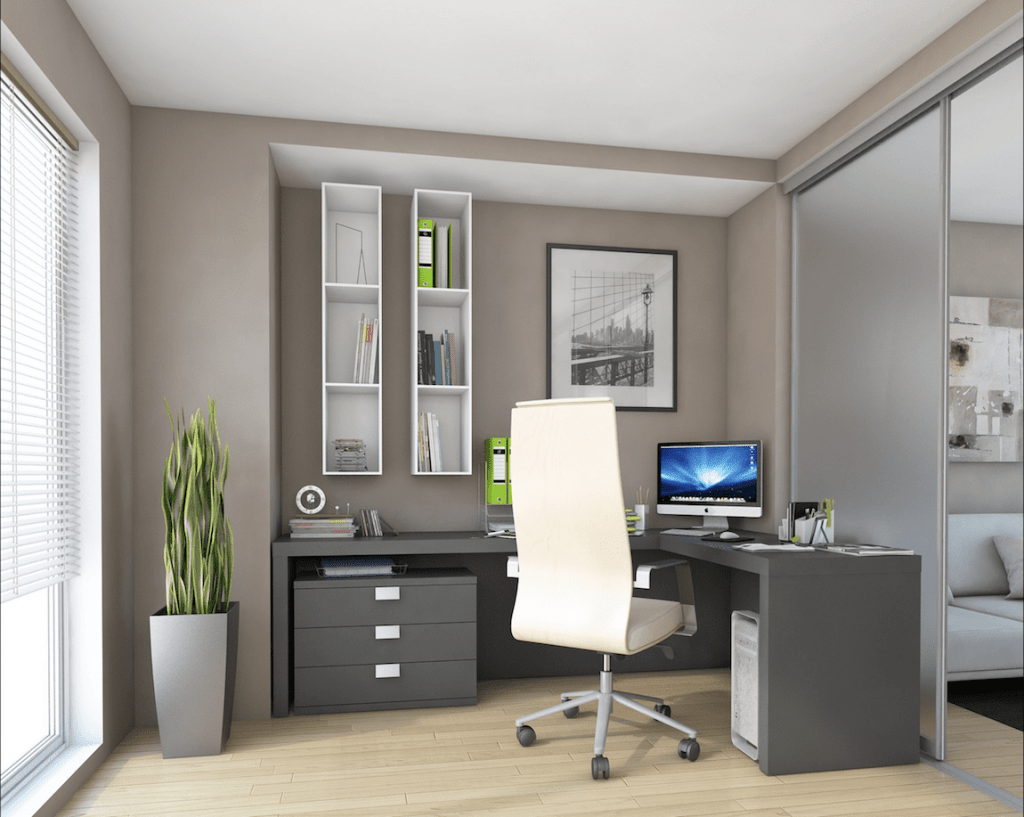 Sheffield joiner bespoke home office interior workspace