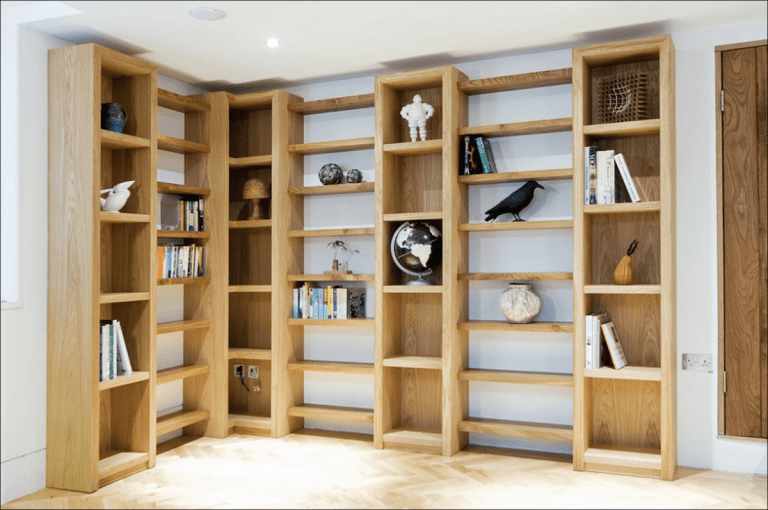 besoke joinery storage and shelving