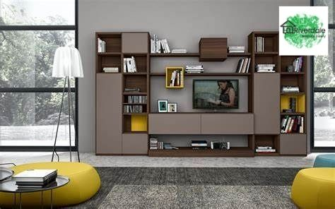 built in tv unit and shelves