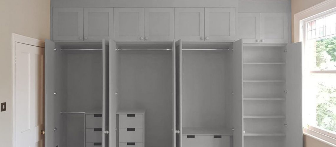 Fitted wardrobe and personalised interior