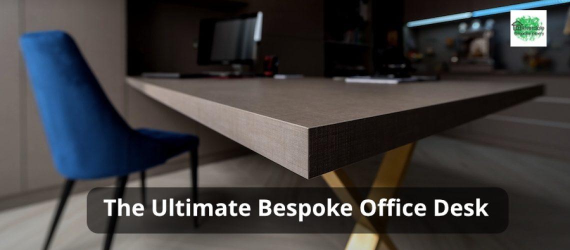 Built-In Home Office desk