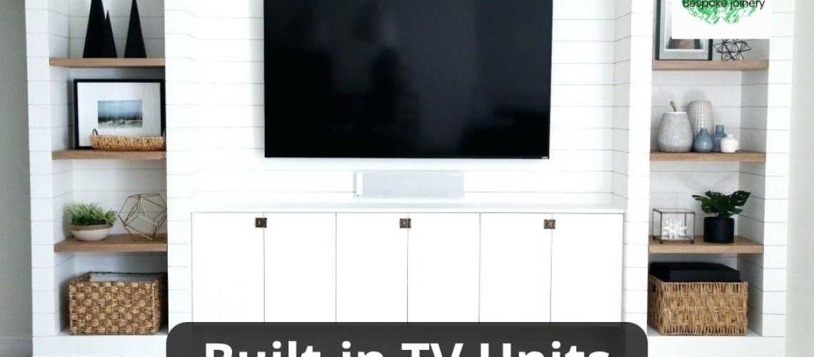 built in tv unit wall