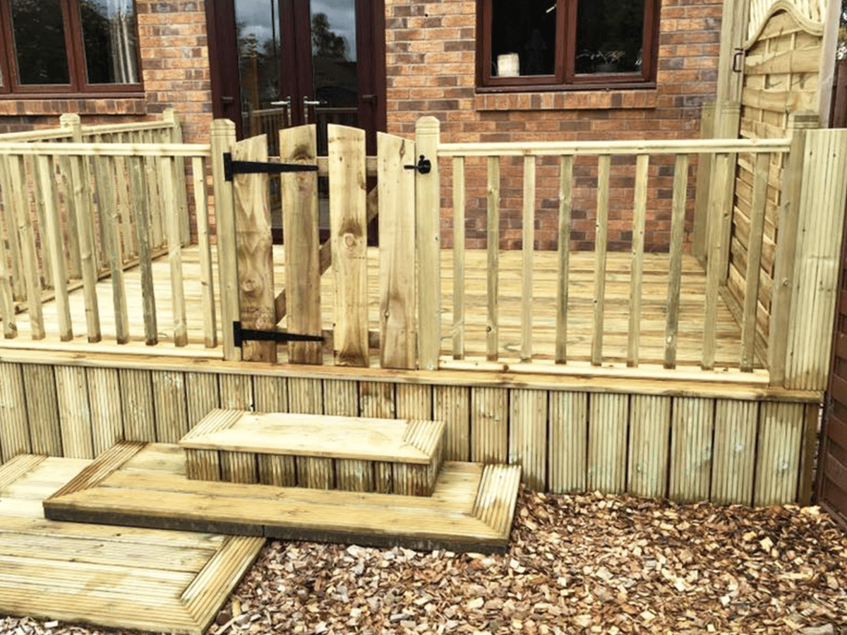 bespoke joinery sheffield decking