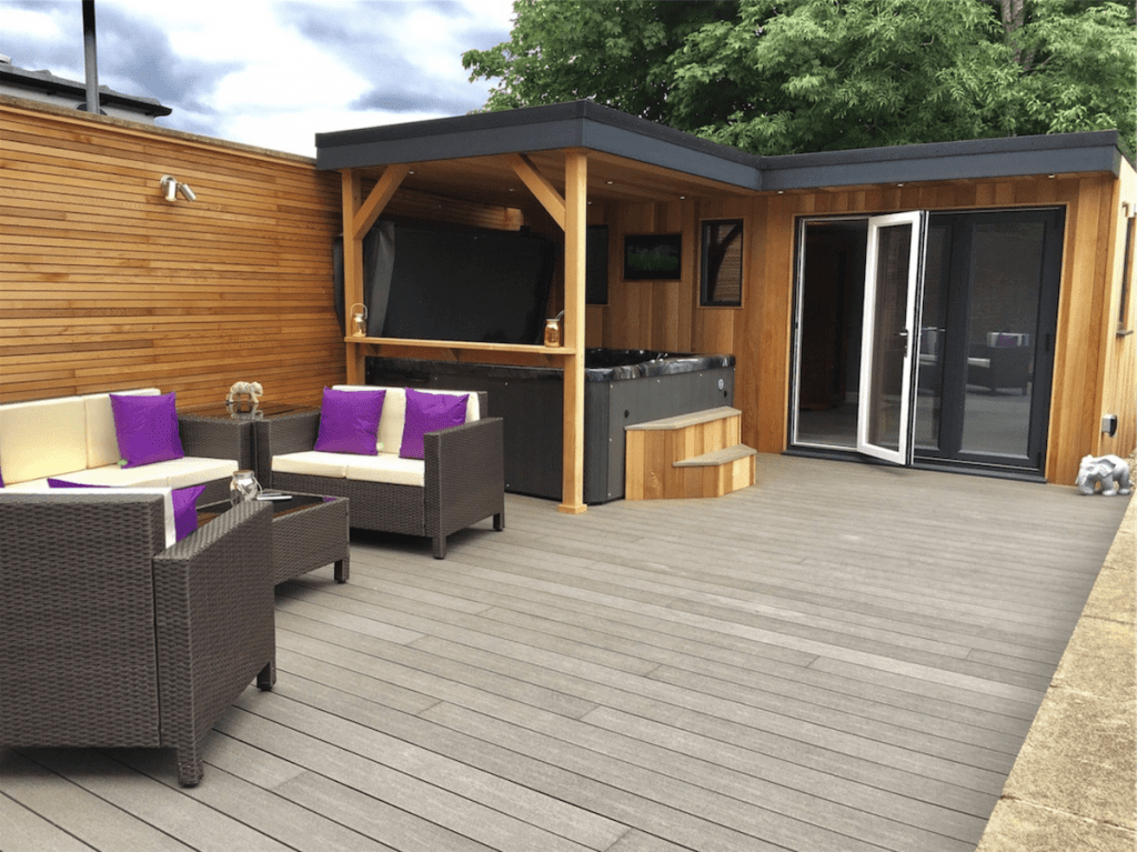 garden decking installers sheffield outdoor living space