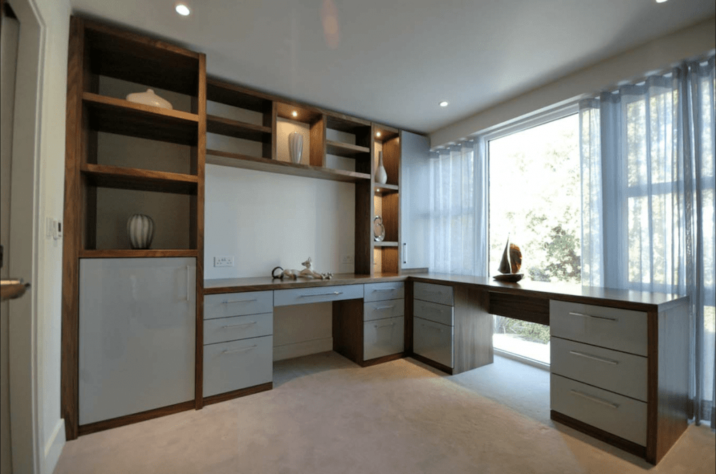 bespoke fitted home office furniture interiors workspace joinery solutions