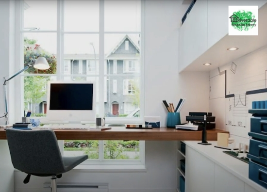 modern fitted office