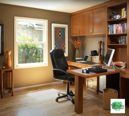 office space work area