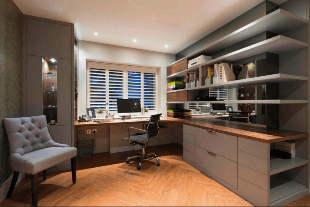 what is bespoke furniture example fitted office